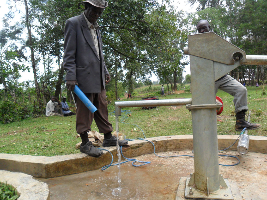 The Water Project : test-pumping-complete-shamakhubu