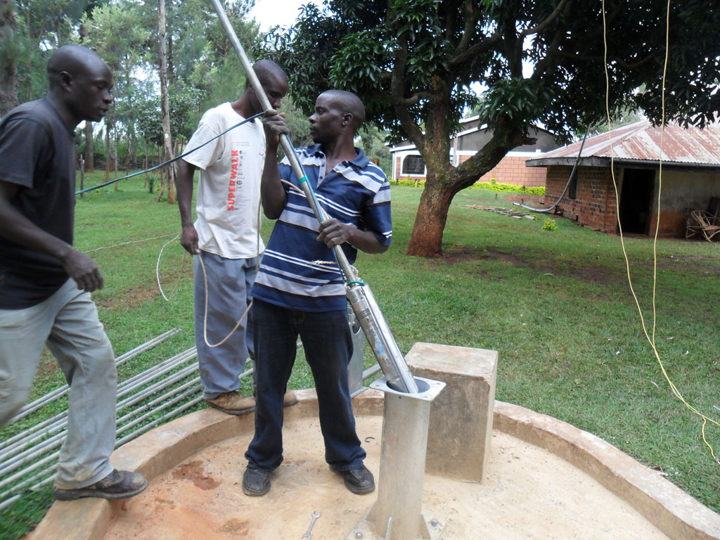 The Water Project : testing-to-begin-at-erechero-community