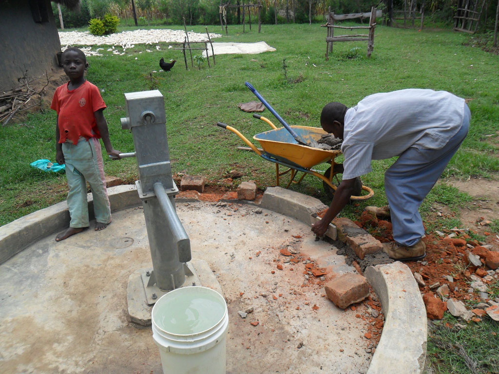 The Water Project : construction-of-emulundu-community-well-1