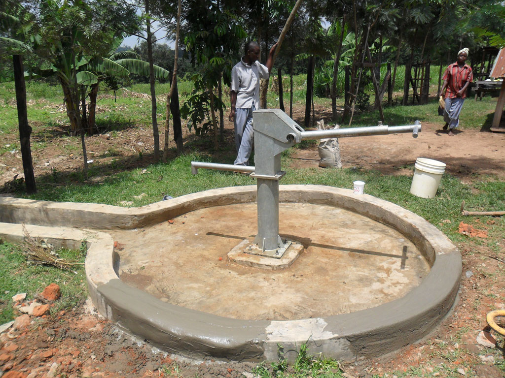 The Water Project : construction-of-emulundu-community-well-3