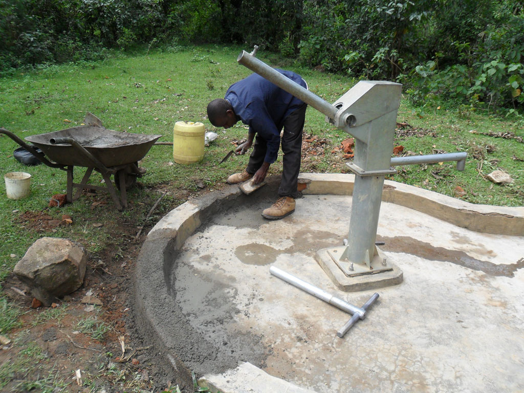 The Water Project : construction-of-shamakhubu-community-well-1