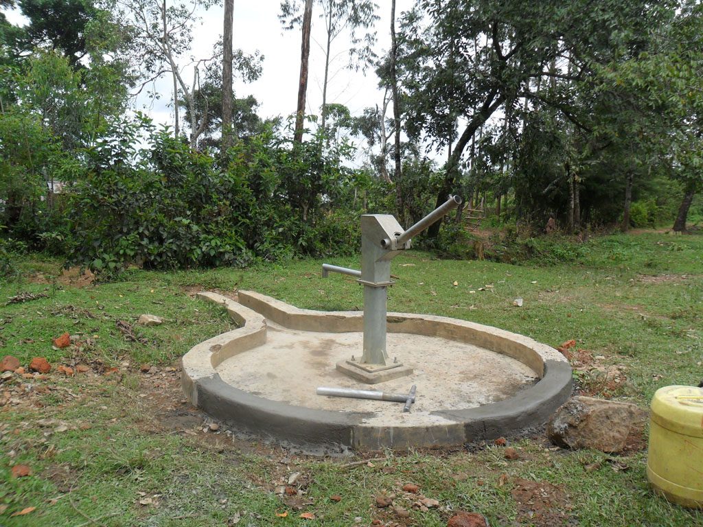 The Water Project : construction-of-shamakhubu-community-well-2