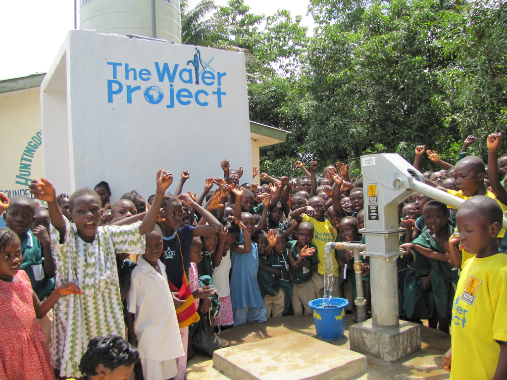 Photo of Foo Foo Water, Huntingdon Primary School WaSH Project