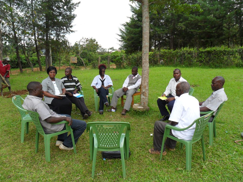 The Water Project : formation-of-the-water-committee-at-manyala-hospital