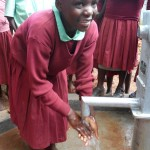 The Water Project: Hirumbi Primary School Well - Site 2 -