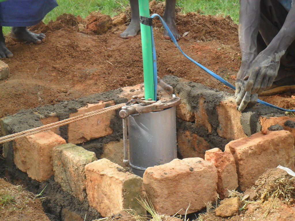 The Water Project : construction-done-at-manyala-hospital