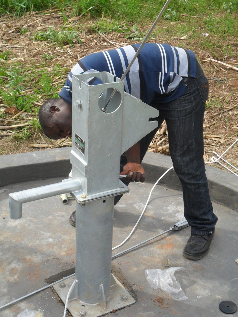 The Water Project : pump-installation-at-eshiamboko-primary-school-2