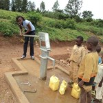 The Water Project: Kiziguru Secondary School Well -