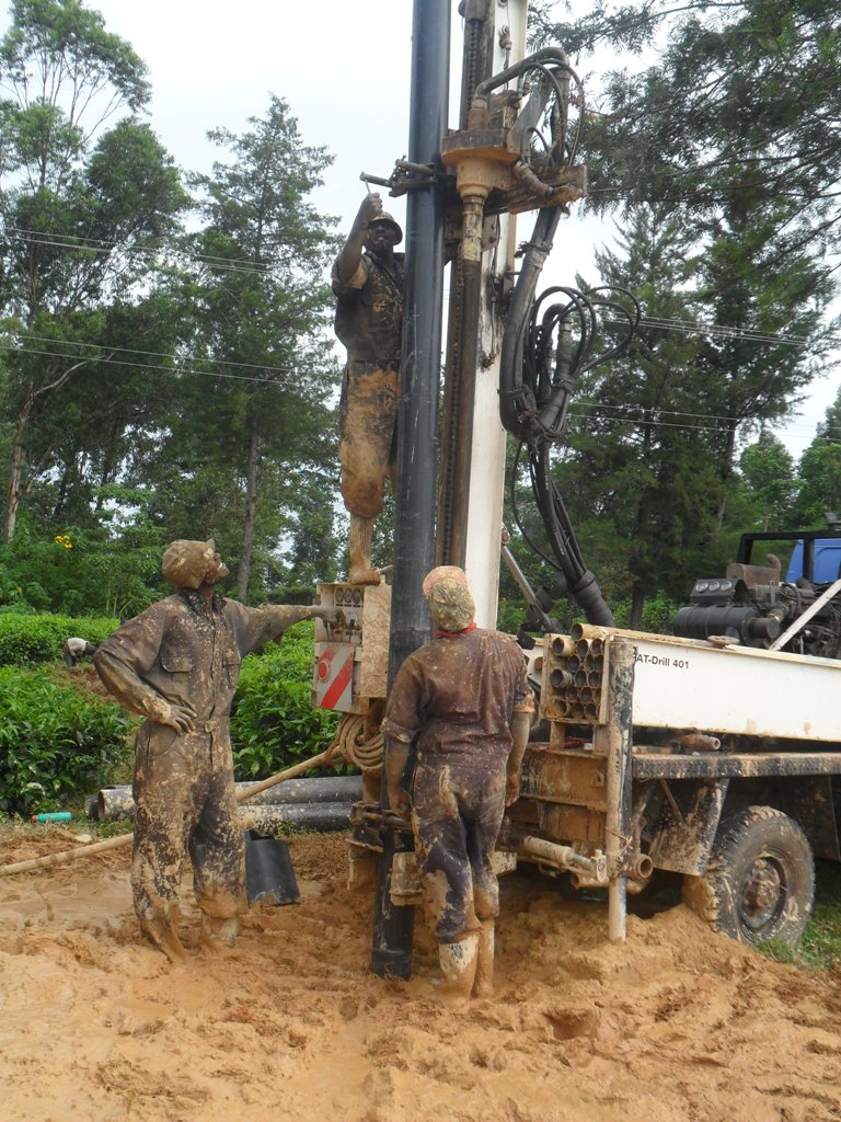 The Water Project : drilling-at-madioli-primary-2