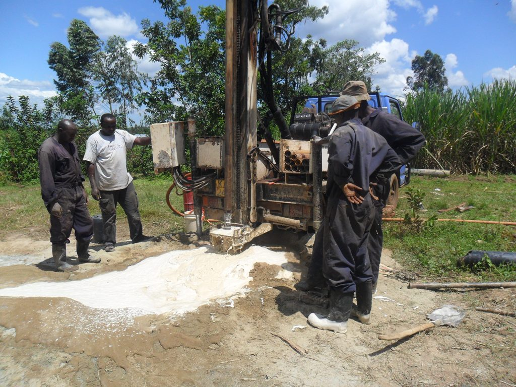 The Water Project : drilling-at-mayungu-community-3