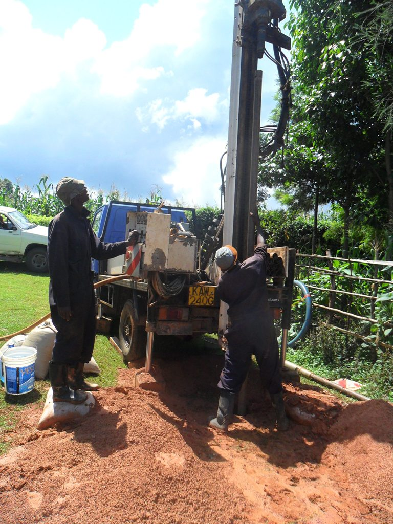 The Water Project : drilling-at-wambenge-communty-2