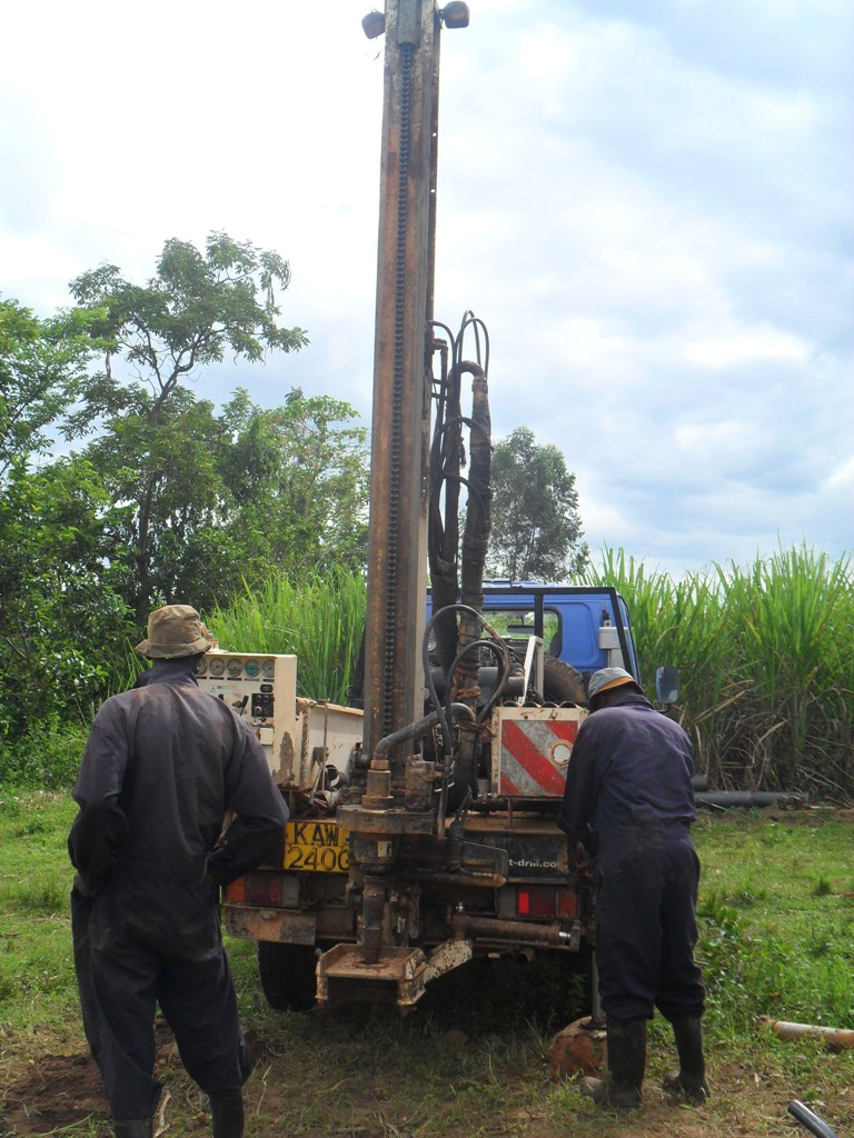 The Water Project : drilling-set-to-begin-at-mayungu-community-3