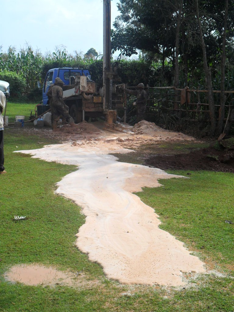 The Water Project : waer-flowing-from-the-aquiver-wambenge-community-2