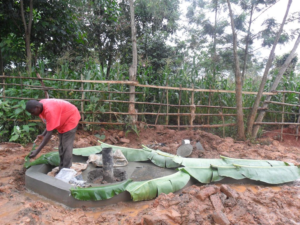 The Water Project : wambenge-construction