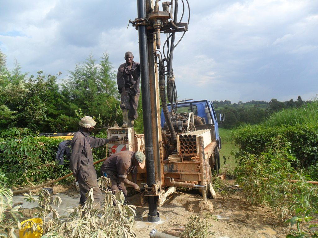 The Water Project : casing-of-the-eshiamache-community-well-2