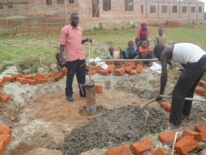 The Water Project : construction-hafoland-primary-school