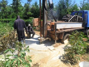 The Water Project : drilling-eshiamache-community