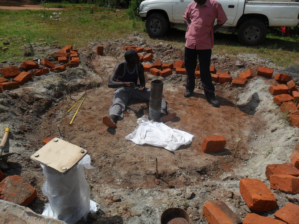The Water Project : hafoland-new-primary-school-pad-construction-2