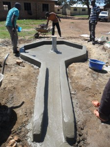 The Water Project : nabingenge-constructed-pad-2