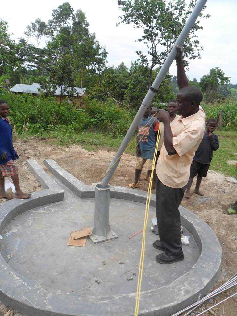 The Water Project : pump-installation-wambenge-community