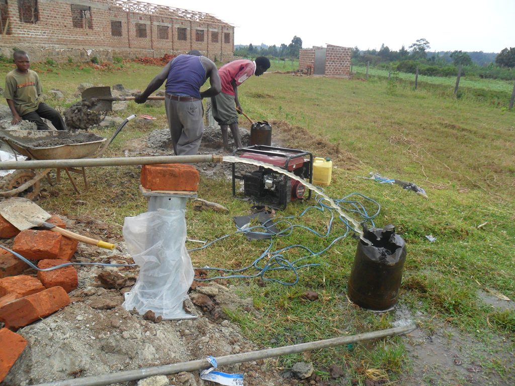 The Water Project : test-pumping-hafoland-new-primary-school-2