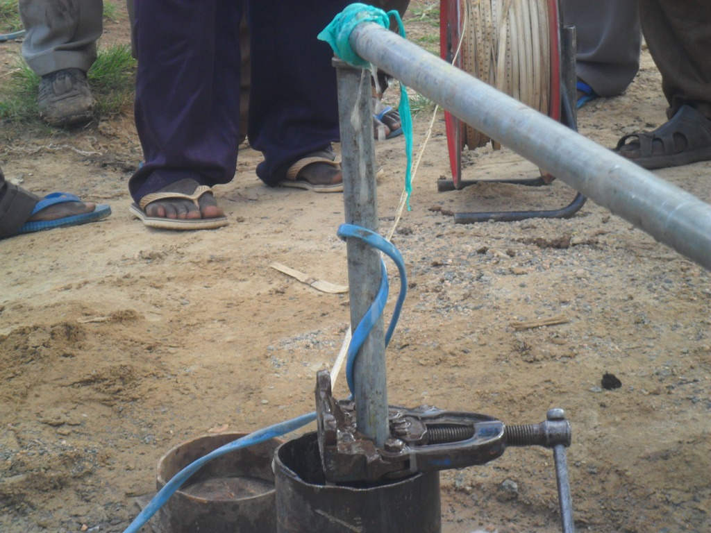 The Water Project : testpumping-at-nabingenge-school-2
