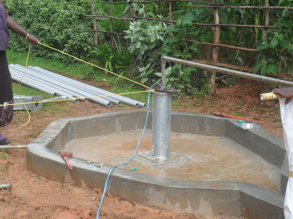 The Water Project : testpumping-wambenge-community