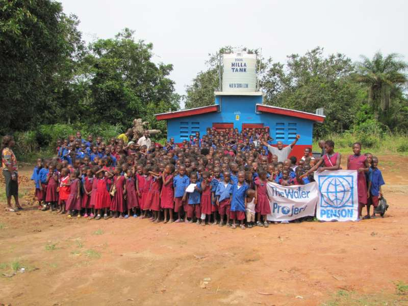 Photo of Lungi, Rosint, Church of God Prophecy Primary School Well Rehab