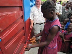 The Water Project : girls-ribbon-cutting-800