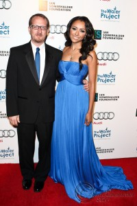 "Kat Graham and Peter Chasse attend ""The Ripple Effect"" in Los Angeles."