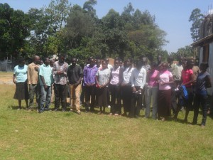 The Water Project : bushiangala-institute-students-posing-for-a-photo-2
