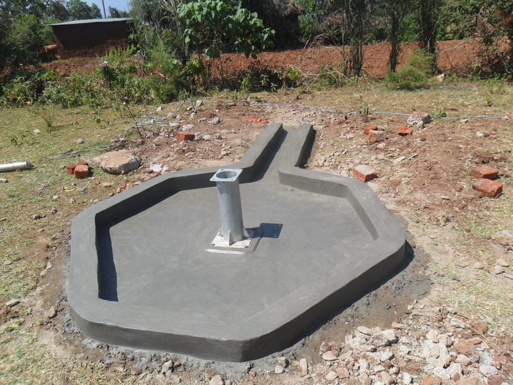The Water Project : constructed-pad-musembe-market-2-2