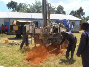 The Water Project : drilling-bushiangala-technical-institute