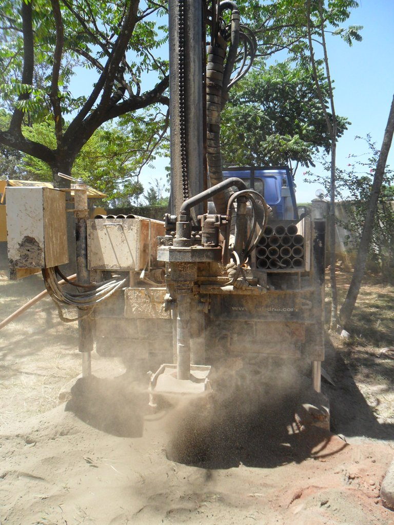 The Water Project : drilling-igunga-sec-school-9