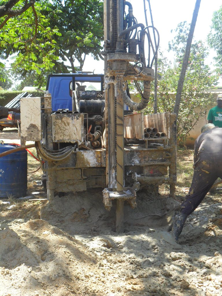 The Water Project : drilling-igunga-sec-school-1-4