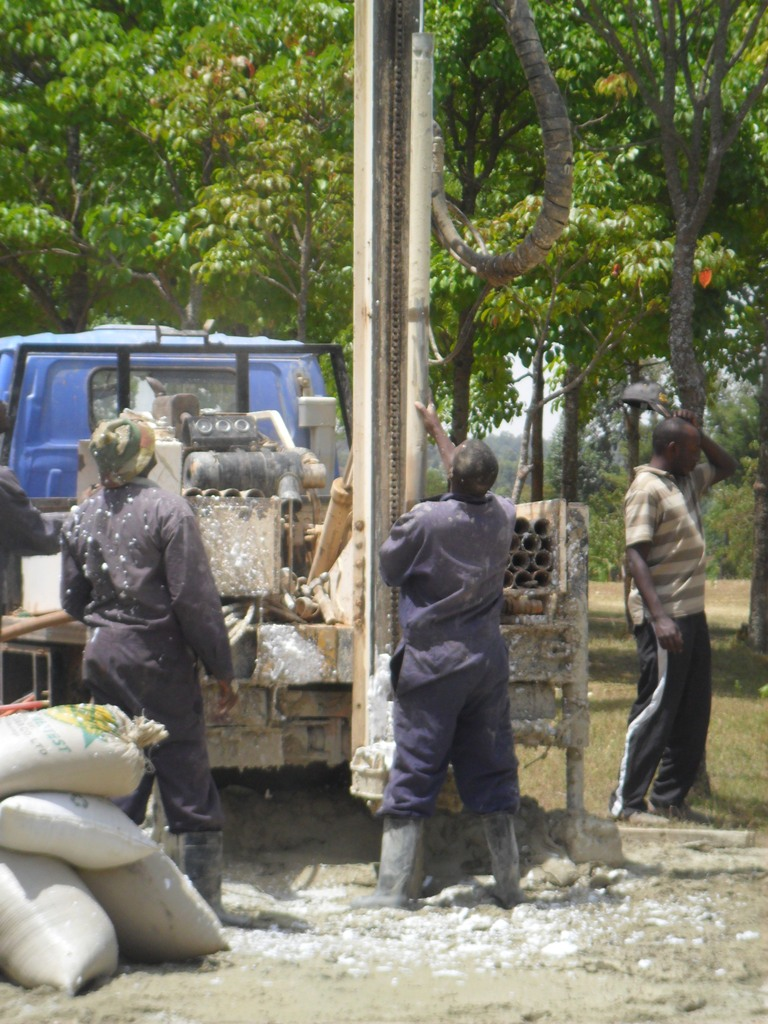 The Water Project : drilling-lwanda-k-school