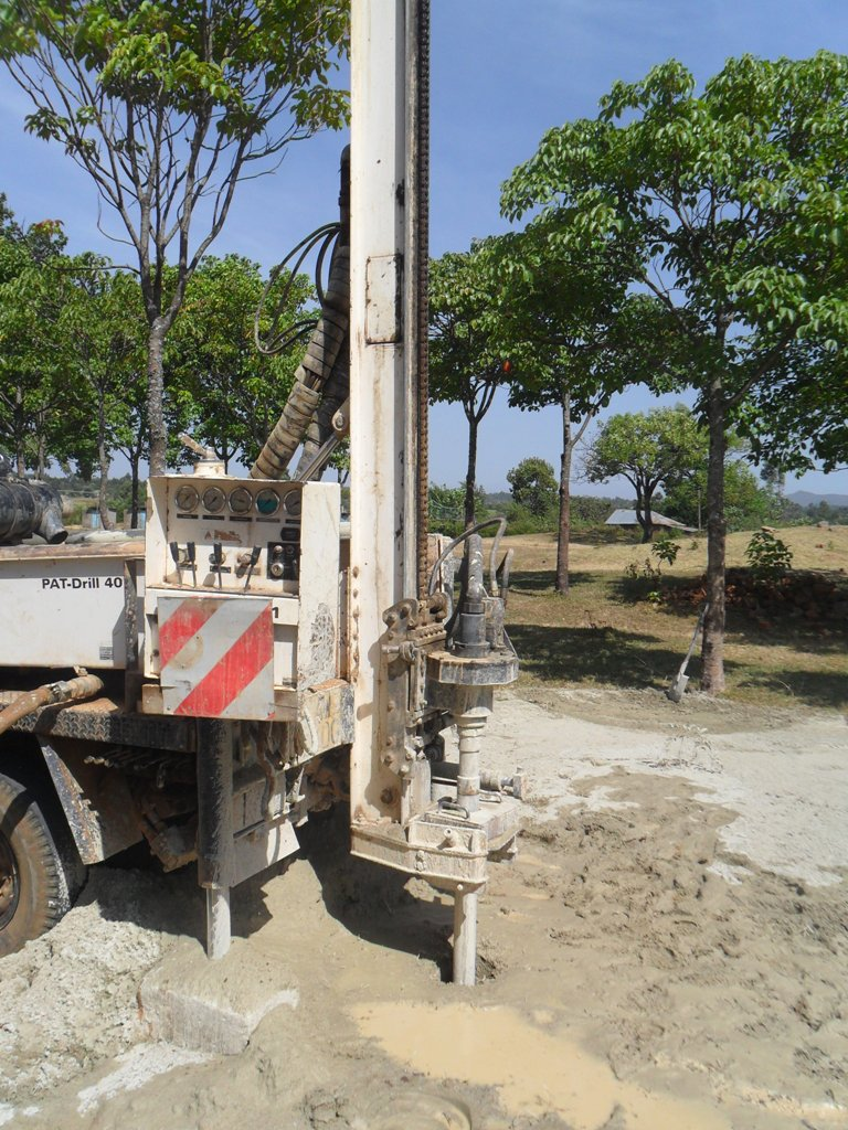 The Water Project : drilling-lwanda-k-school-6