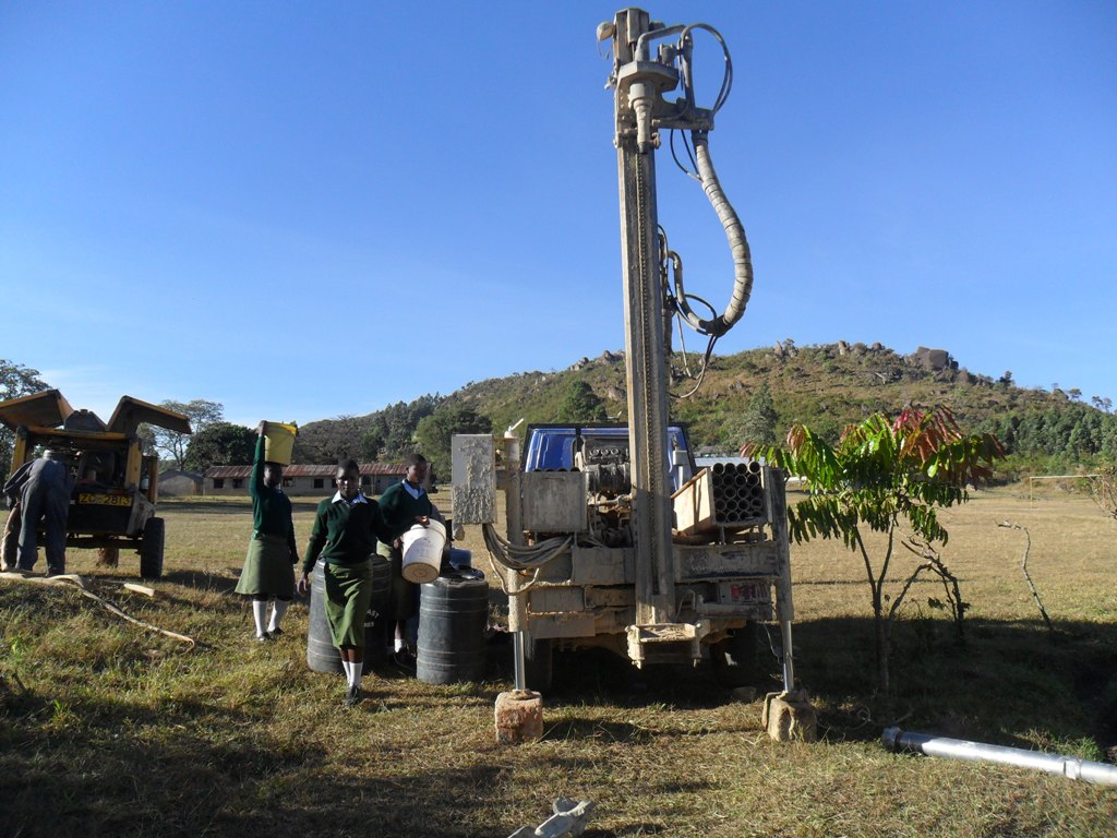 The Water Project : drilling-set-to-begin-at-magale-sec-school-2
