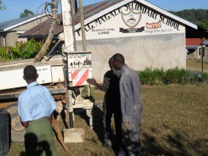The Water Project : drilling-set-to-begin-at-magale-secondary-1