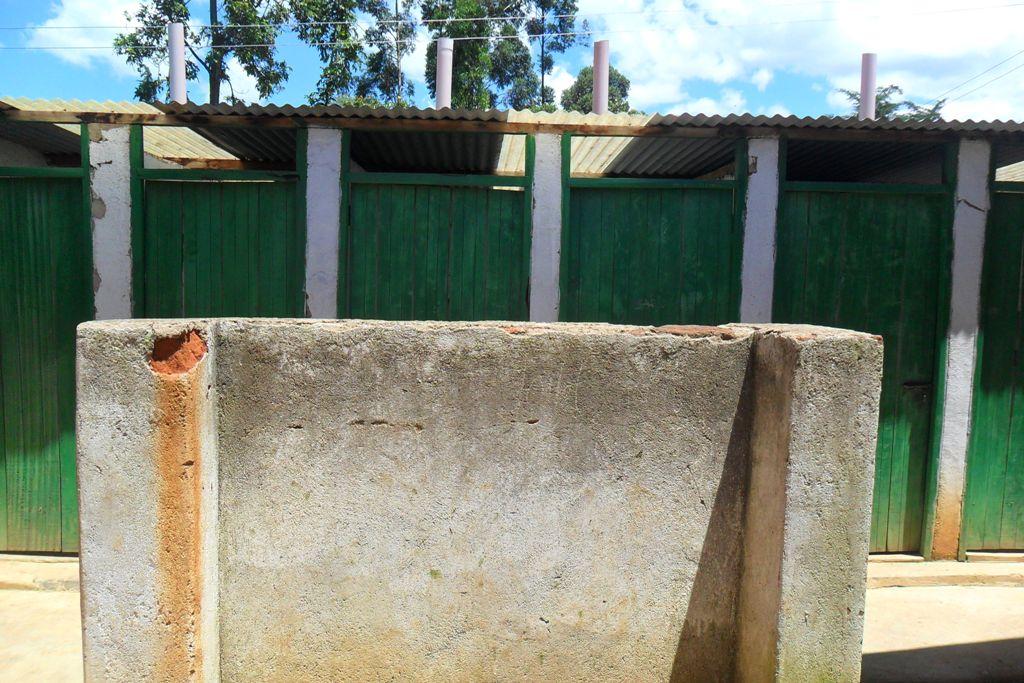 The Water Project : igunga-girls-latrines-2