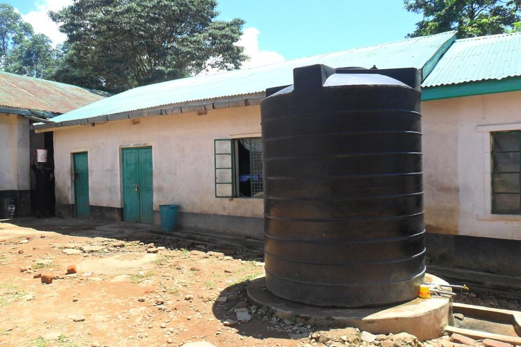 The Water Project : igunga-girls-water-tanks-2