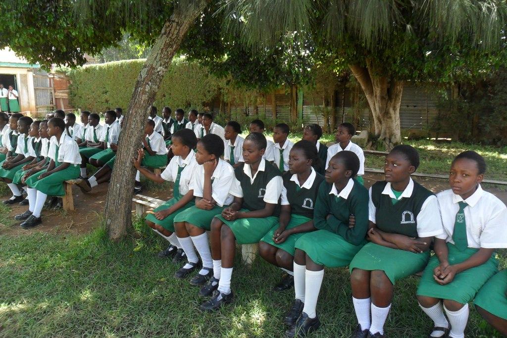 The Water Project : igunga-girls-2