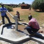 The Water Project: Karima Health Centre -