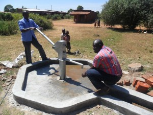 The Water Project : karima-market-pump-installed