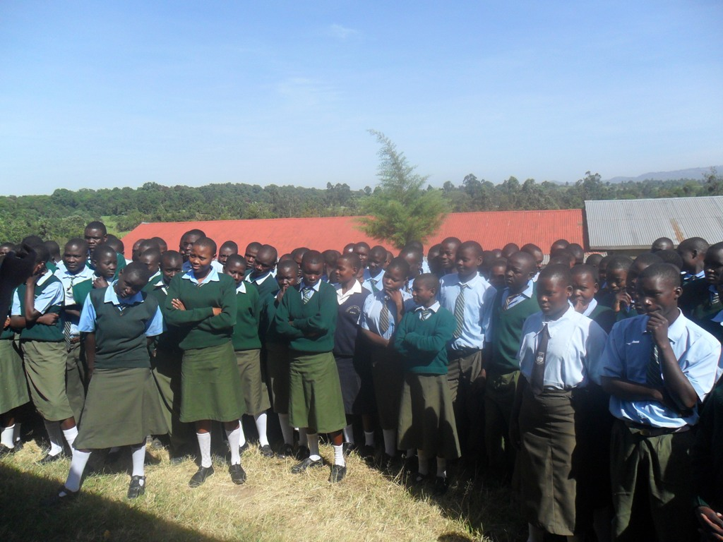 The Water Project : magale-p-a-g-sec-school-community-education-5