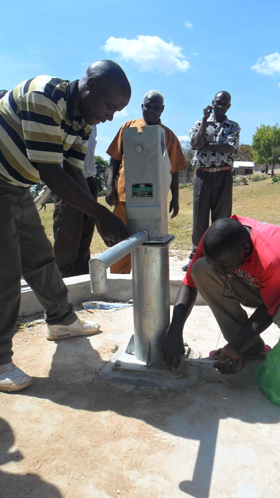 The Water Project : pump-installation-malinda-primary-school-3