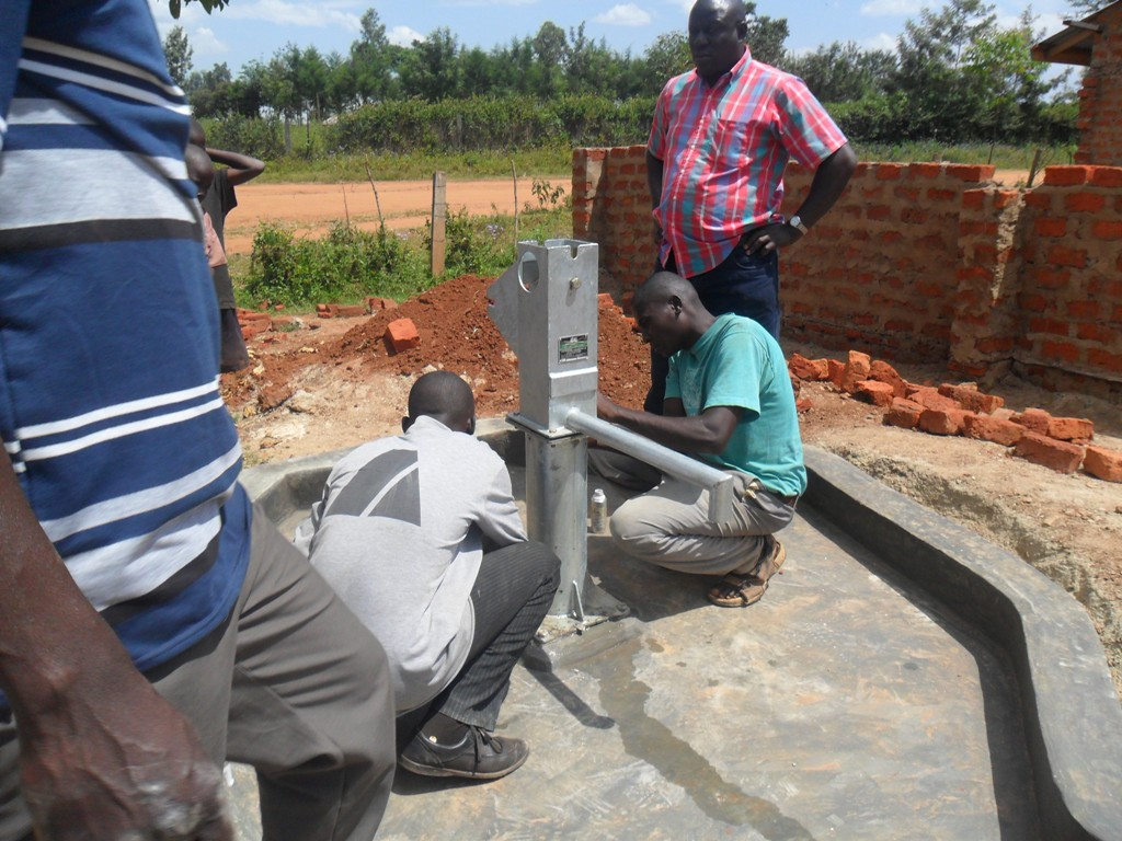 The Water Project : pump-installation-sabata-primary-3