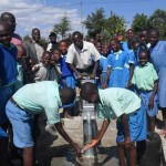 The Water Project: DEB Primary School -