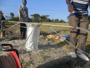 The Water Project : test-pumping-soysambu-primary-2