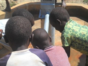 The Water Project : water-flowing-hofaland-primary